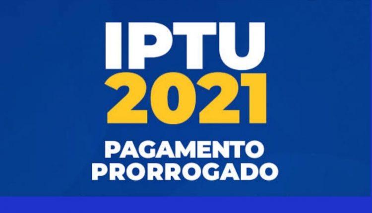 PREFEITURA PRORROGA CALENDÁRIO DO IPTU